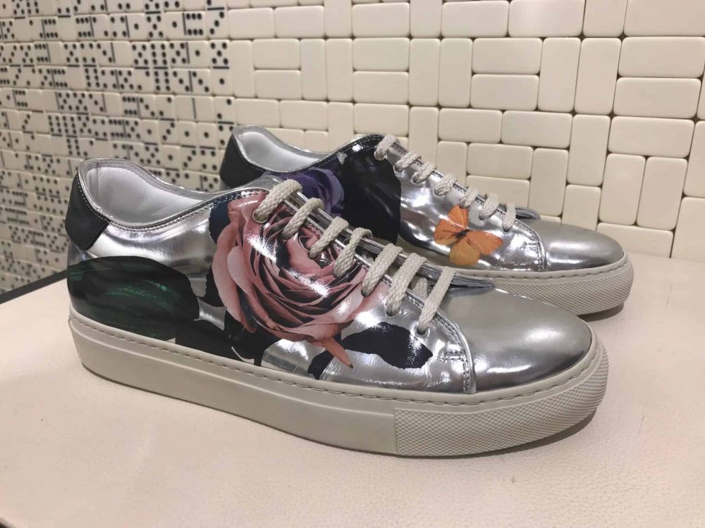 shoes from fashion designer Paul Smith, Albemarle Street shop, Mayfair, Latest in Design Tour, Fashion Tours London, fashion walks and shopping tours for fashionistas