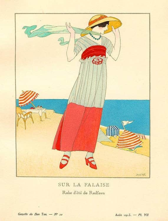 ad for Redfern dress, Paris, Ballgowns to Bumsters Tour, Fashion Tours London, fashion history Mayfair, fashion walks and shopping tours for fashionistas