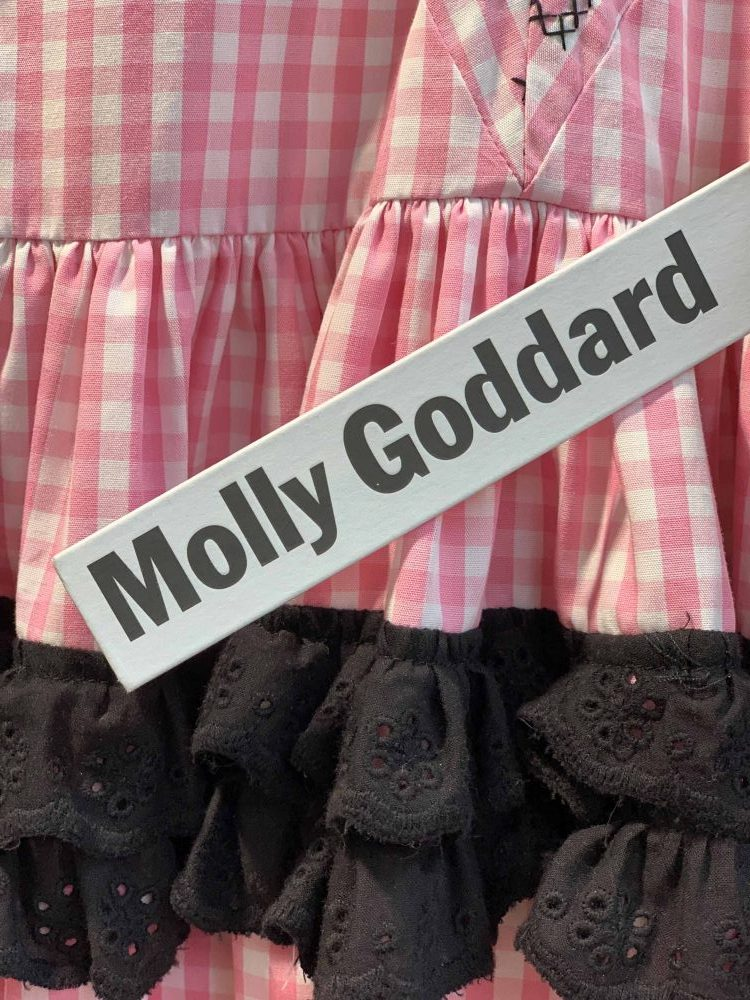 Dover Street Market, London, fashion designer Molly Goddard label, featured in fashion walk Latest in Design Tour