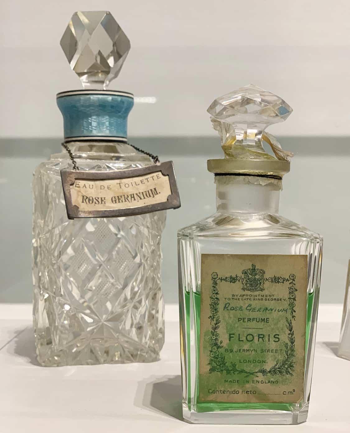 antique bottles, Floris perfumes, Jermyn Street, St. James's, Unique Boutiques Tours, Fashion Tours London