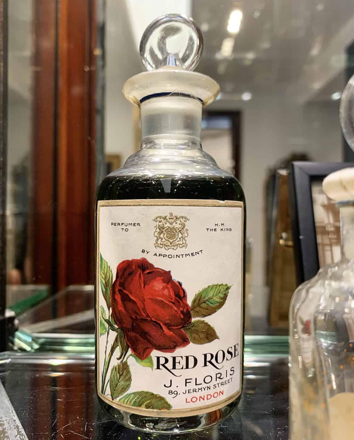 Red Rose perfume, Floris, Jermyn Street, St. James's, Unique Boutiques Tour, Fashion Tours London