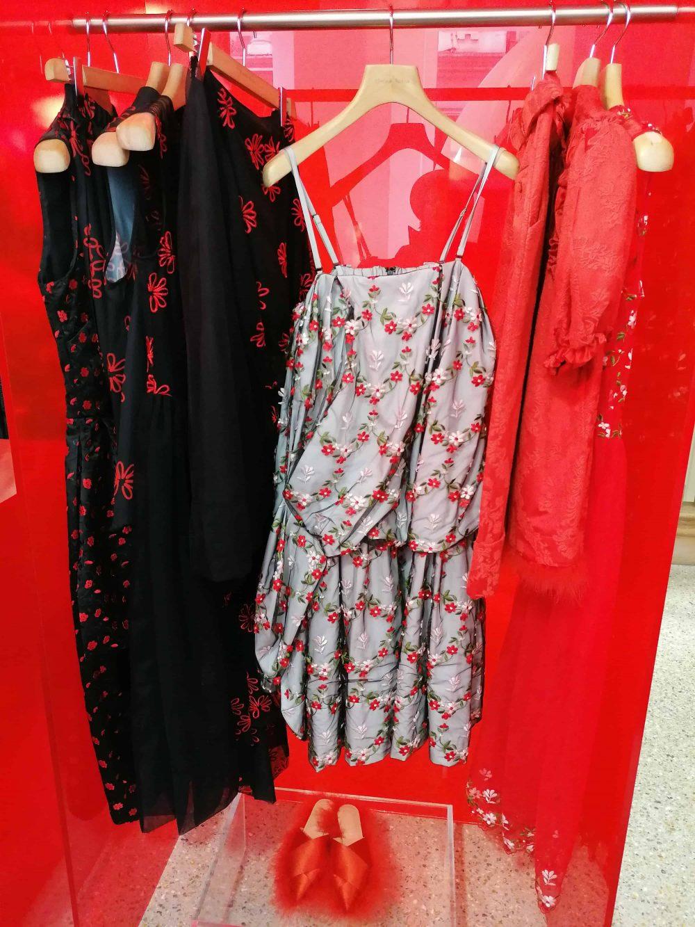 dress by fashion designer Simone Rocha, Dover Street Market, St. James's, Latest in Design Tour, Fashion Tours London