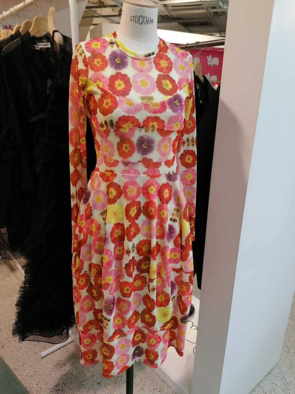 Dress by Fashion designer Molly Goddard, Dover Street Market, Latest in Design Tour, Fashion Tours London