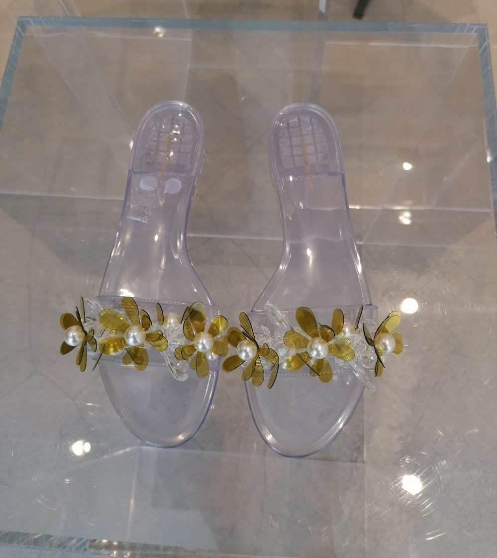 shoes by fashion designer Simone Rocha, Mount Street shop, Mayfair, Latest in Design Tour, Unique Boutiques Tour, Ballgowns to Bumsters Tour, Fashion Tours London, fashion walks for fashionistas