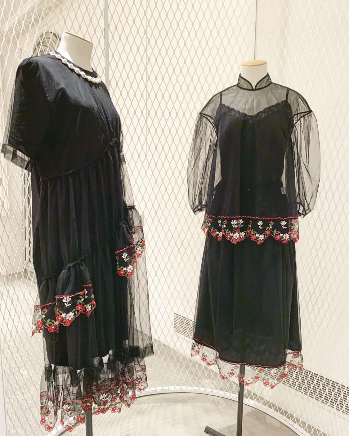 dresses by fashion designer Simone Rocha, Mount Street shop, Mayfair, Unique Boutiques tour, Ballgowns to Bumsters Tour, Latest in Design Tour, Fashion Tours London, fashion walks for fashionistas