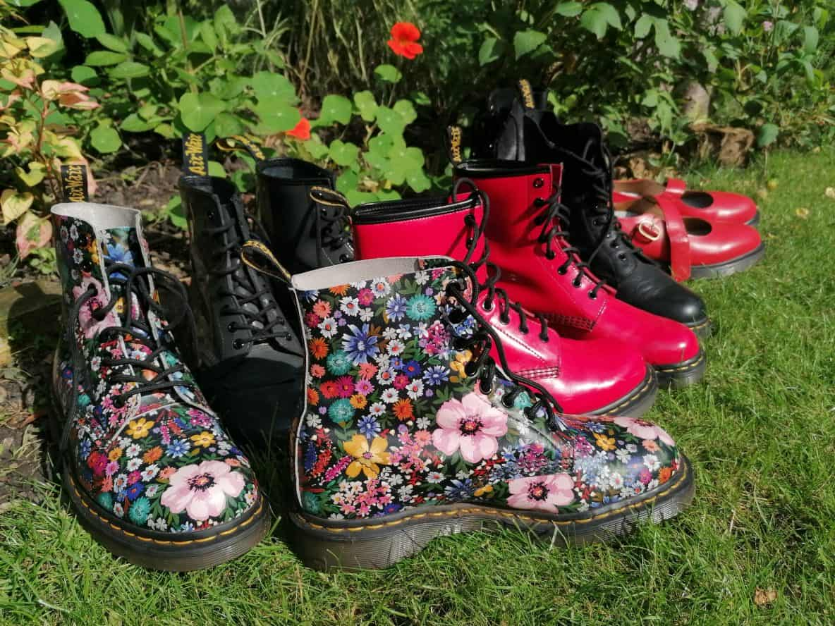 dr martens; top shoes; funky shoes; colourful shoes; fashion tours london;
